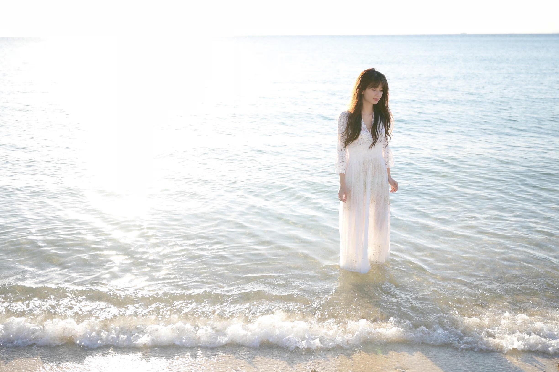 月刊カメラマン主催、沖縄ポートレート撮影ツアーのモデル大城優紀